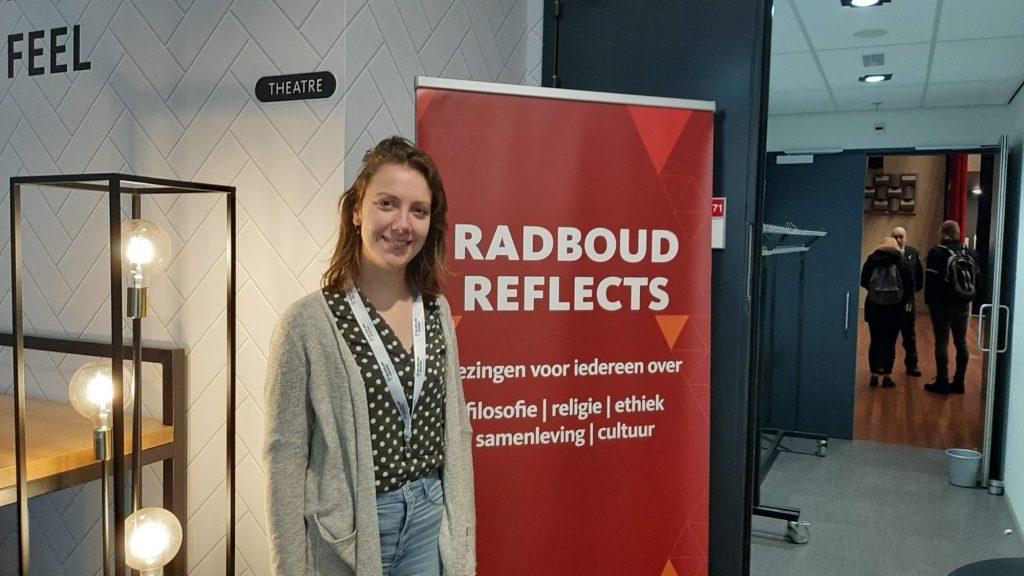 Ambassadeur Maud bij Radboud Reflects